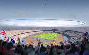 Olympic stadium artist's impression