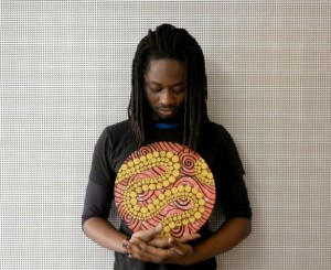 London artist Larry Achiampong