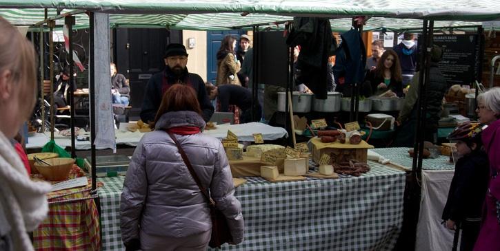 Broadway Market stall