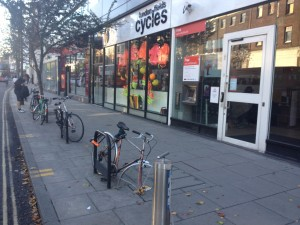 Bike theft is becoming a problem in Hackney Central