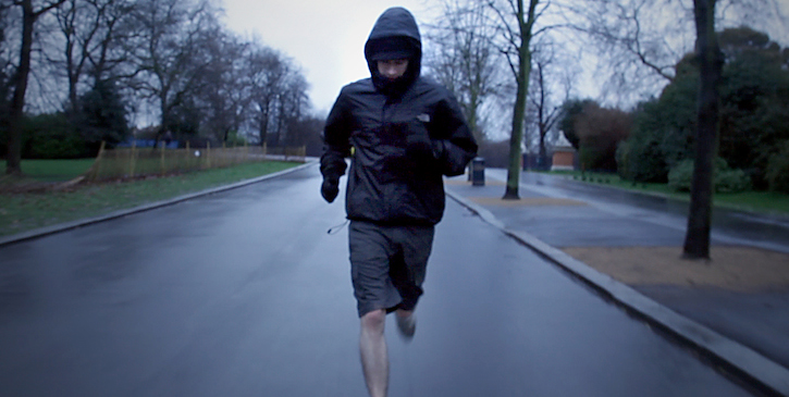 Still from 'The Runners' film