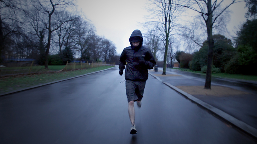 Still from The Runners video