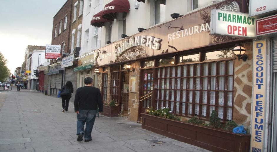 Faulkners restaurant. Credit: Dos Hermanos