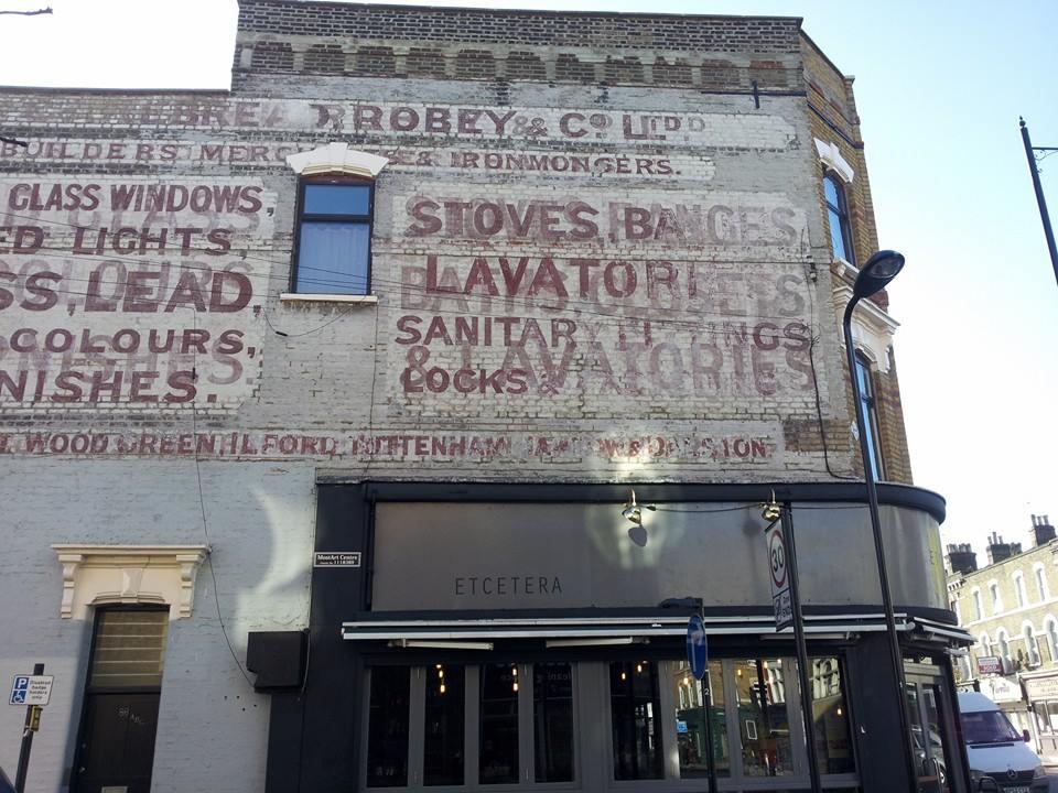 Hackney ghost signs