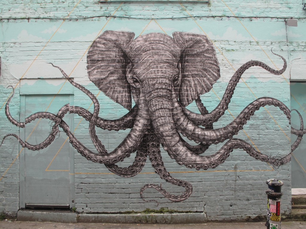 More street art, Hackney. Credit: Tom Batchelor