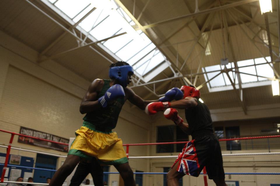 Lawerence Okolie - boxing Hackney