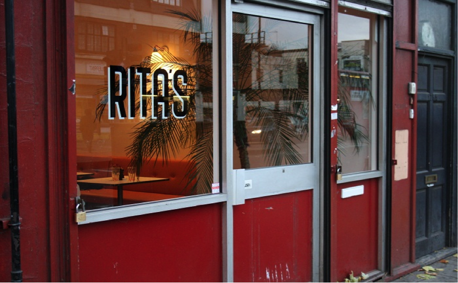 Rita's restaurant. Credit: Cherie's City