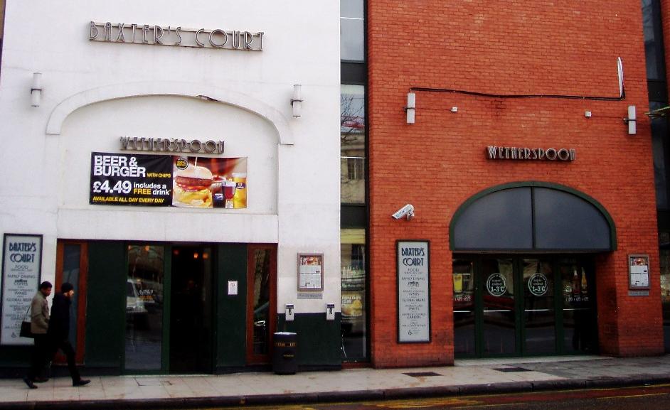 Baxter's Court, Hackney