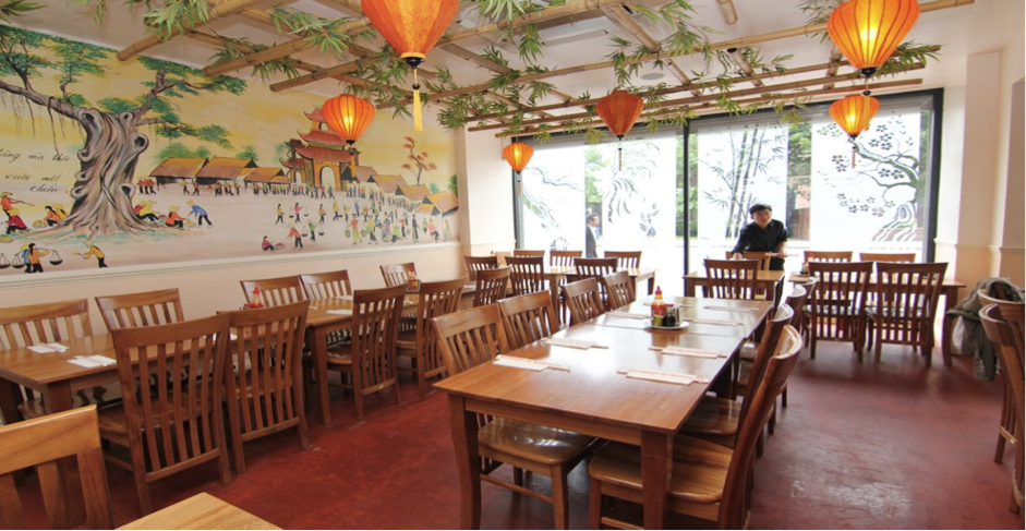 Inside Tre Viet restaurant. Credit: Tre Viet.