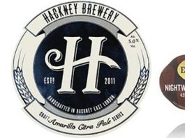 Some of the locally-brewed beers available in Hackney