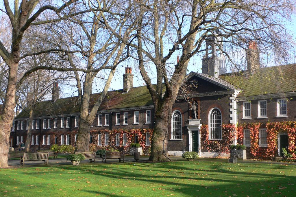 The exterior of Geffrye Museum in Hackney