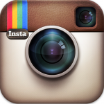 The logo for the website Instagram