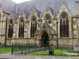 Police find gun in St Mary's churchyard