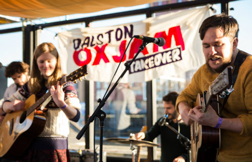 Oxjam rocks in Dalston and Shacklewell