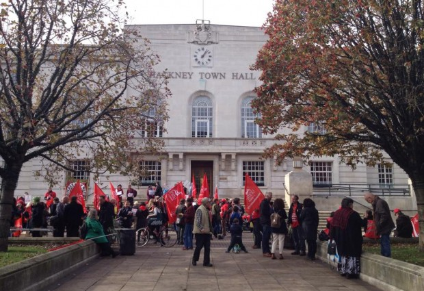 ISIS protest unites Hackney