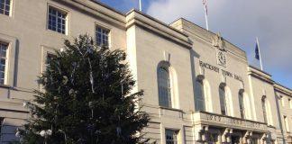 Hackney Town Hall Xmas Tree