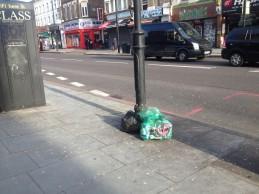 Great bin robbery blights Hackney