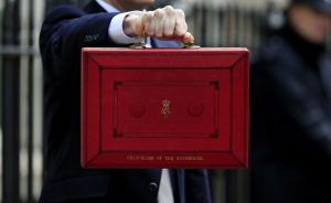 An image of the red budget box.