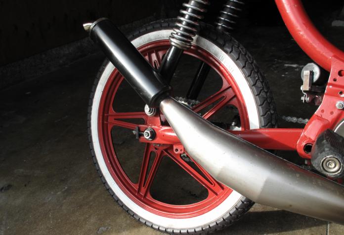 Moped wheel
