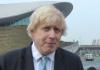 An image of Mayor of London Boris Johnson.