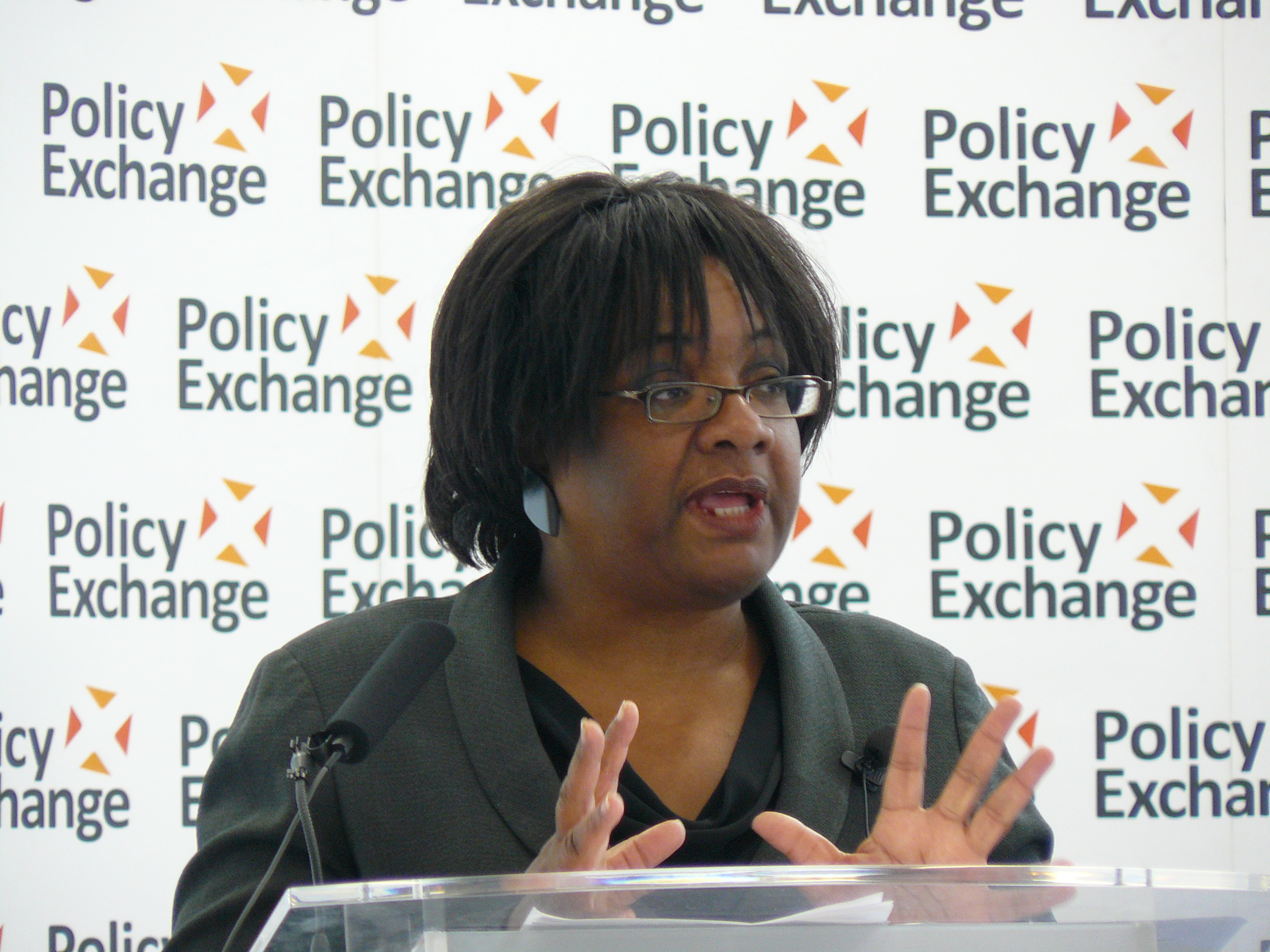 Diane Abbott MP delivering her keynote speech 'Children and public health_ putting families at the heart of policy' _ Flickr - Photo Sharing!