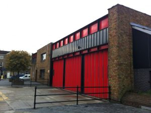The recently closed Kingsland Fire Station