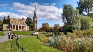 The house in Clissold Park. Photo: David Knowles.