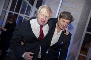 Boris and Leo Johnson. Photo: Financial Times