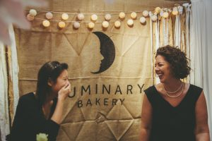Luminary bakery at a cake show