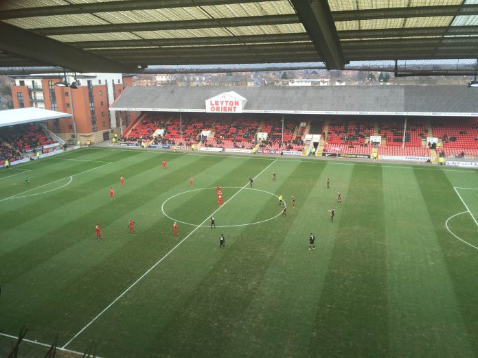Leyton Orient play Crawley Town