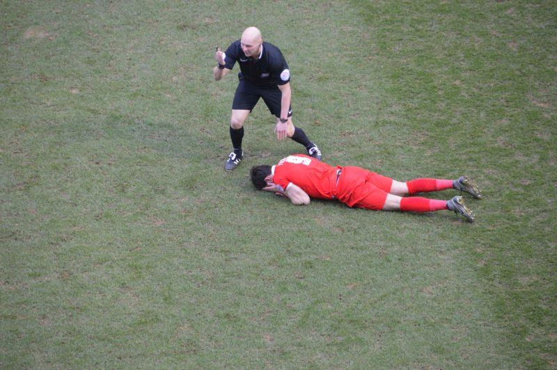 Leyton Orient head injury