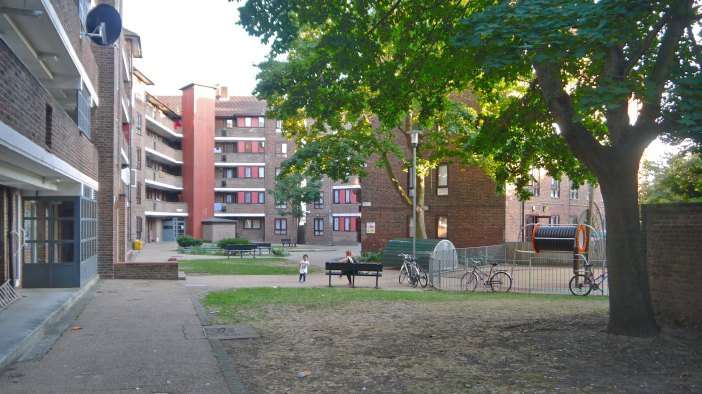 Northwold Estate in Cazenove, Hackney.