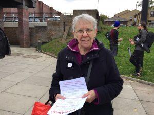 "Pat Turnbull's petition, ""Save Britannia Leisure Centre"", has received some 2,600 signatures."
