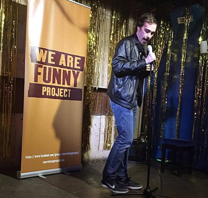 "Bennett Bonci at ""We Are Funny"""