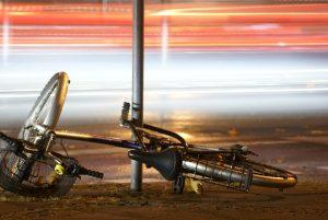 Biking accident