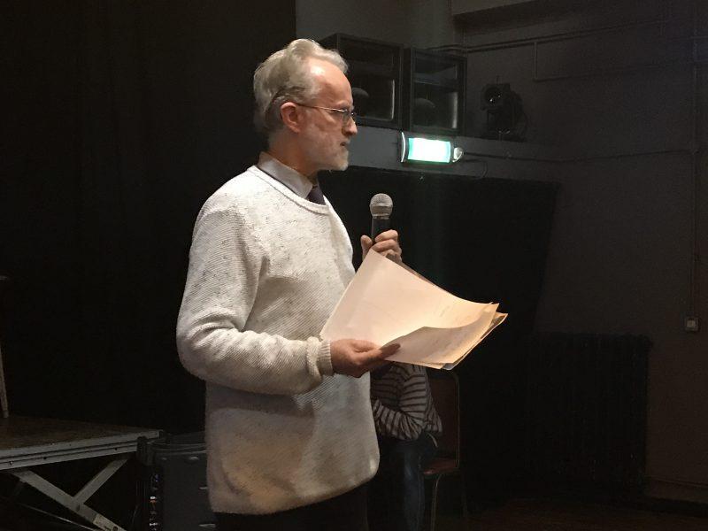 Rathbone addresses Chatsworth meeting