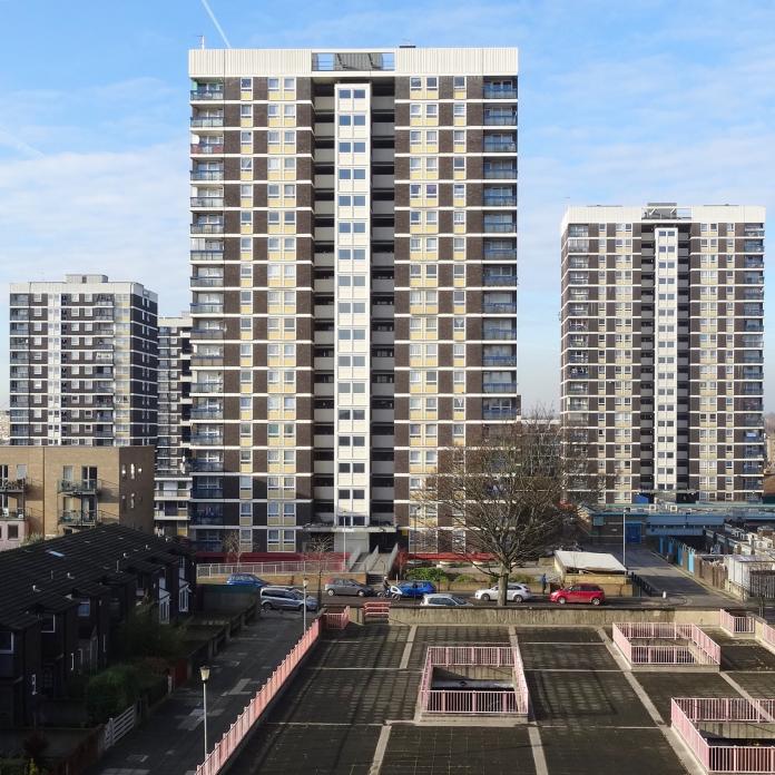 De Beauvoir Estate tower blocks