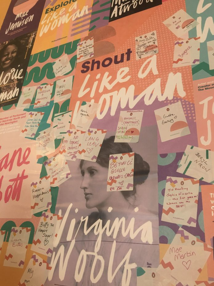 #LikeAWoman, is a collaborative project from Penguin Publishers and Waterstones bookseller