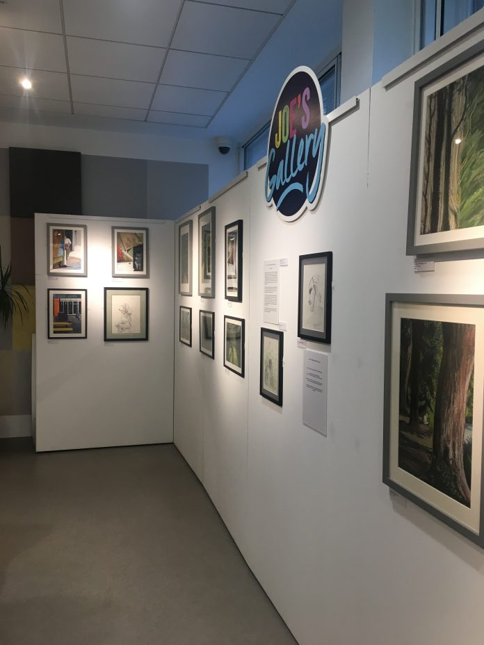 Picture of hospice art gallery