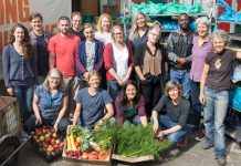 Local community grows organic food to help borough.