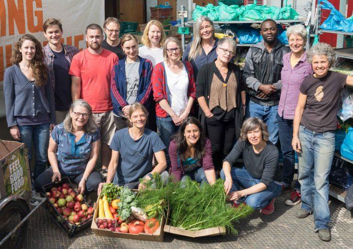 Local community grows organic food to help borough.